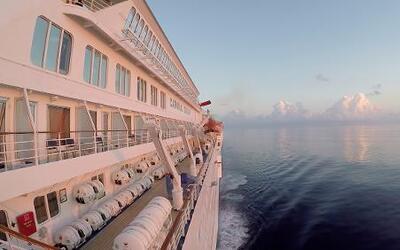 La factura ambiental de un paseo en crucero
