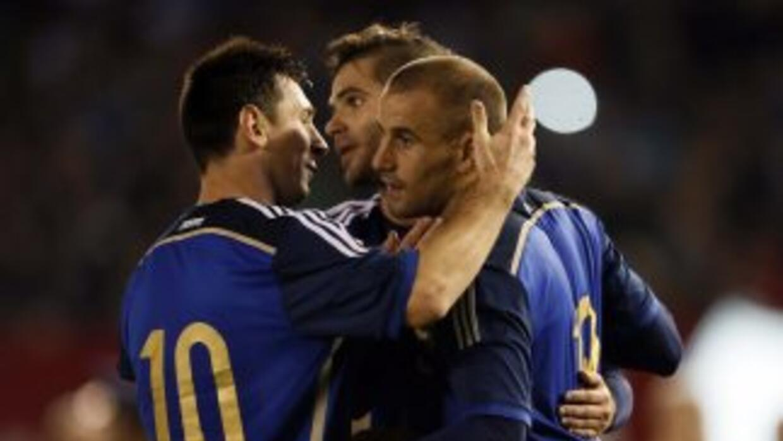 Argentina goleó a Trinidad y Tobago en juego de preparación.
