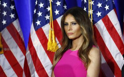 La noche que Melania Trump libró al mundo de toda culpa (y se la echó a...