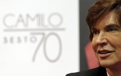 Cantante Camilo Sesto presenta nuevo disco para celebrar sus 70 años de...
