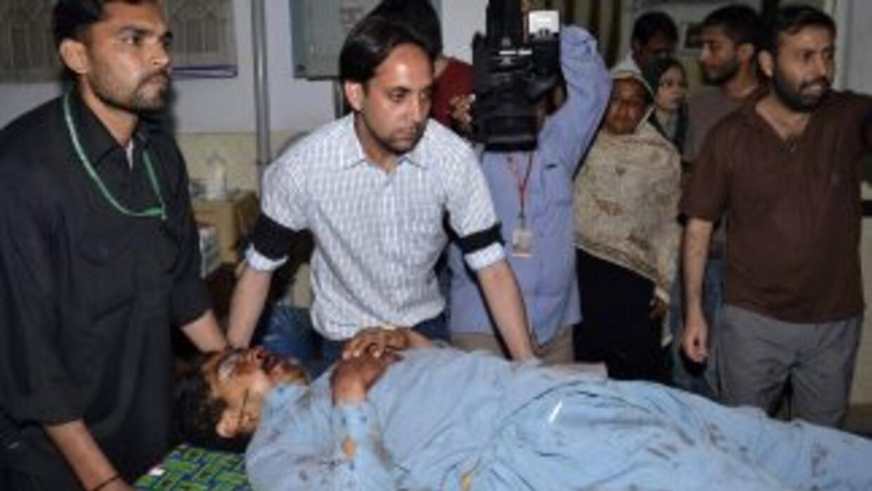 Atentado en Pakistán dejó al menos 50 personas muertas y 110 heridas.