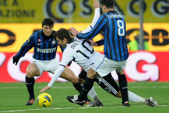 El otro equipo de Milán, Inter de Milán, está teniendo una gran racha y...