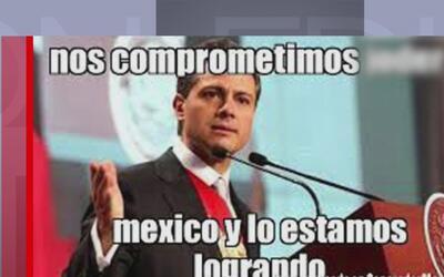 Enrique Peña Nieto es nuevamente protagonista de burlas y memes