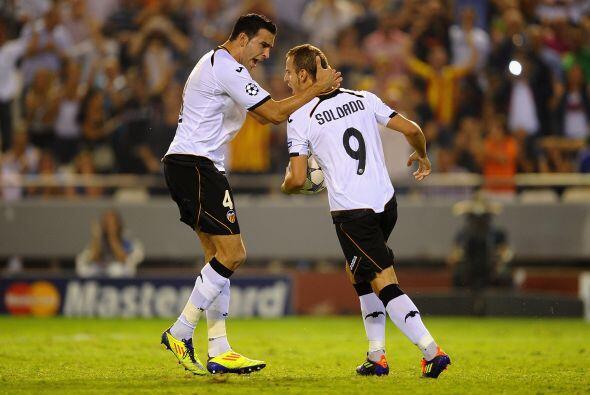 Y casi al final del duelo, un penalti cobrado por Roberto Soldado signif...