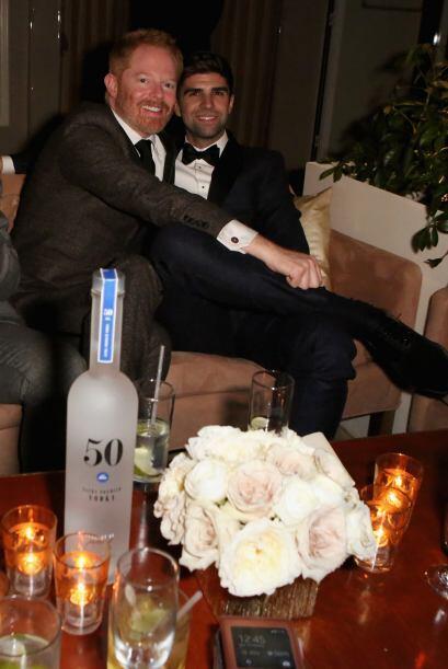 Muy lindos ellos: Jesse Tyler Ferguson y su pareja Justin Mikita.