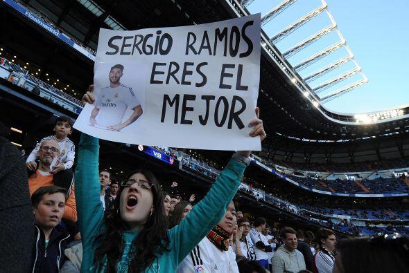 Real Madrid jugaba en el Santiago Bernabéu ante un Levante que es...