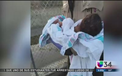 Buscan a madre de 'bebé milagro'