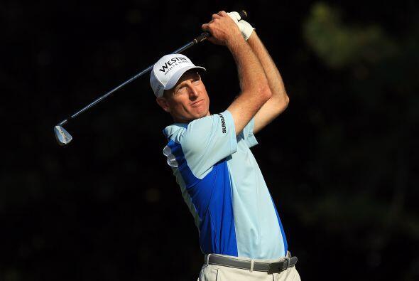 Jim Furyk hizo este domingo la mejor ronda en la historia del PGA Tour.