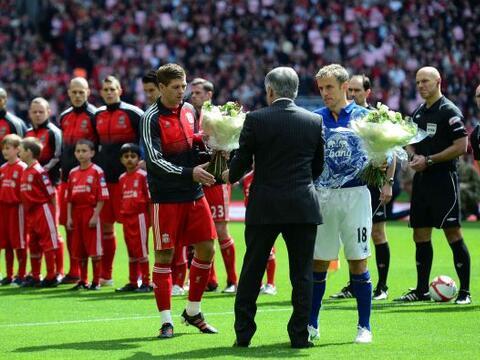 Se vivió un 'derby' en las semifinales de la FA Cuo. Liverpool y...
