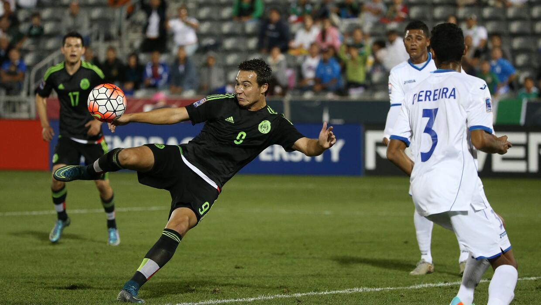 "Érick ""Cubo"" Torres anotó el gol de México ante Honduras"