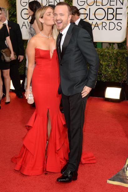 De los más divertidos en la alfombra roja fueron Lauren Parsekian...