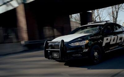 Conoce el nuevo Ford Police Responder Hybrid Sedán