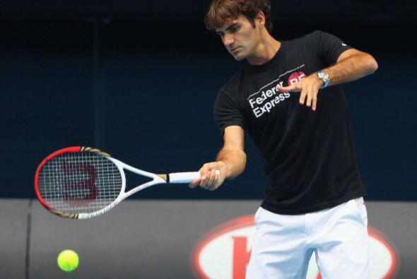 Federer ha cuidado su lesión, pues quiere hacer un buen papel en el prim...