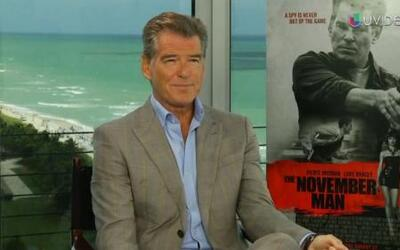 Pierce Brosnan regresa al cine y habla de 'The November Man'
