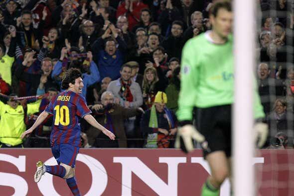 Y no pasó mucho tiempo para que Lionel Messi dejara en claro que...