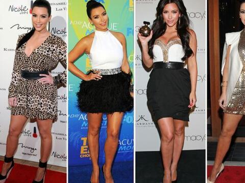 "La siempre ""fashion"" Kim Kardashian sabe muy bien cómo..."