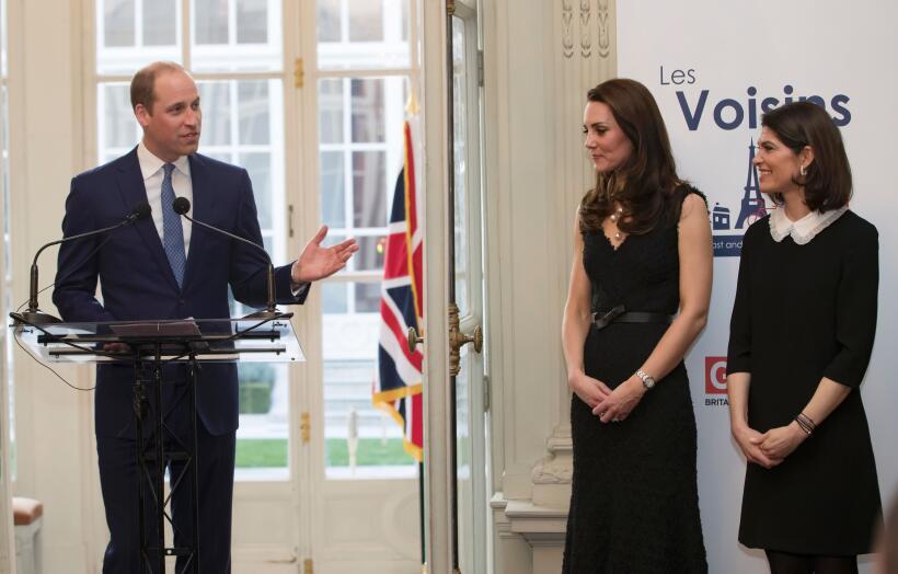 Kate Middleton ha tenido cinco bellos cambios de vestuario en menos de d...