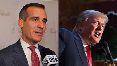 """Alcalde de Los Ángeles se """"avergüenza"""" por comentarios de Trump Untitled..."""