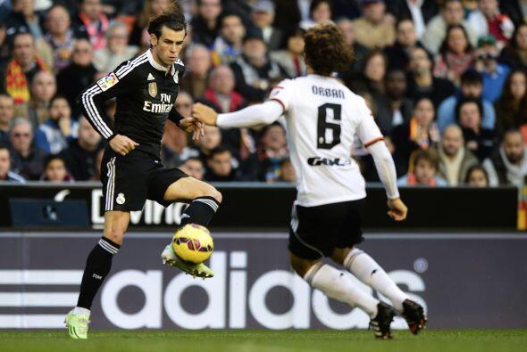 El Madrid se iba al medio tiempo con la ventaja en el marcador pero Vale...