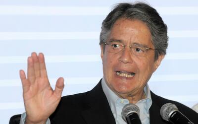 Lasso es el candidato presidencial de Ecuador con mayor intención de vot...