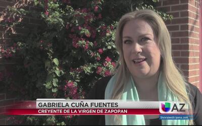 Mujer da testimonio de milagro de la virgen de Zapopan