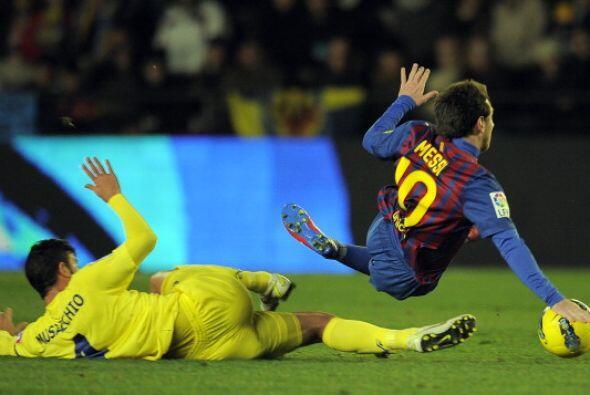 Al final Messi no pudo sacar nunca la mejor parte.