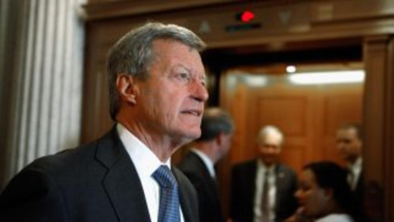 El senador demócrata Max Baucus criticó la ausencia de sus pares republi...