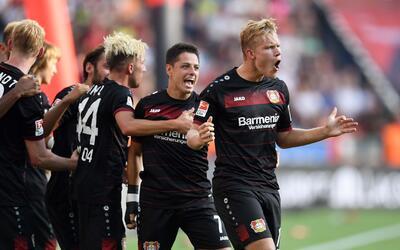 Bayer Levekusen vs. Hamburgo