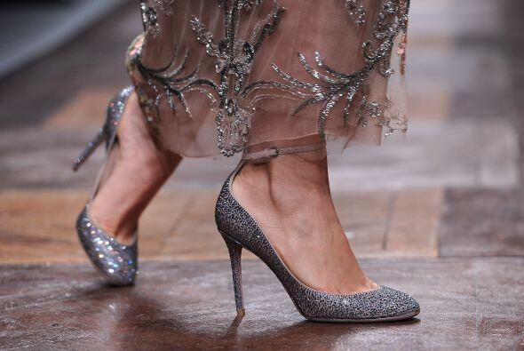 El glitter fue una de las tendencias que más pegó, tanto en alfombras ro...