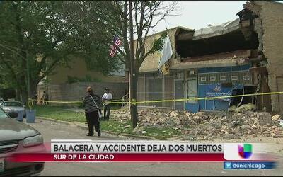 Balacera en Bishop St. deja dos muertos