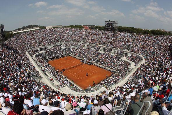 Todo ello cambió en el Foro Itálico de Roma, en otro Masters 1000, donde...