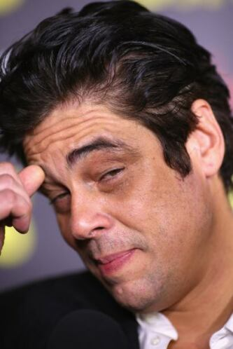 Benicio del Toro también forma parte de la lista de amigos de Chávez.