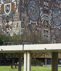 La UNAM es una de las universidades más atractivas por su valor arquitec...
