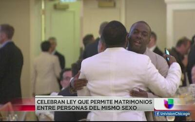 Celebran ley que permite matrimonios entre el mismo sexo