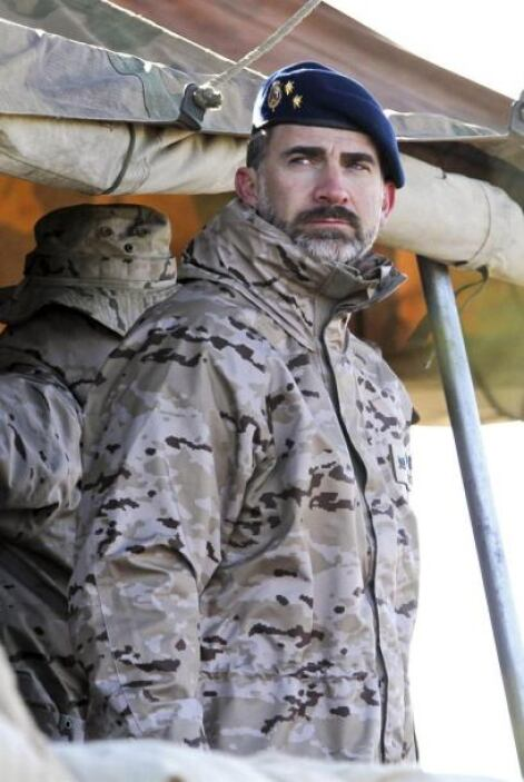 El ejercicio militar se lleva realizando desde el día 14 de noviembre en...