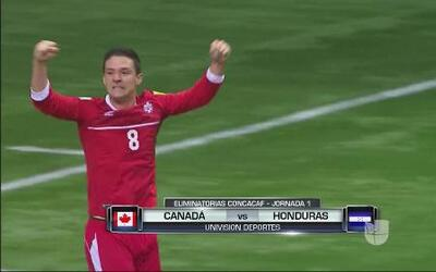 Canadá 1 - Honduras 0: La H reacciona tarde y pierde ante Canadá