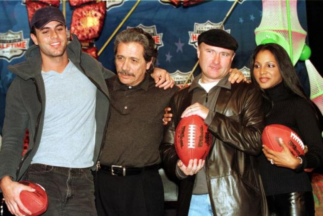 Para el Super Bowl XXXIV en el Georgia Dome se tendría la participación...