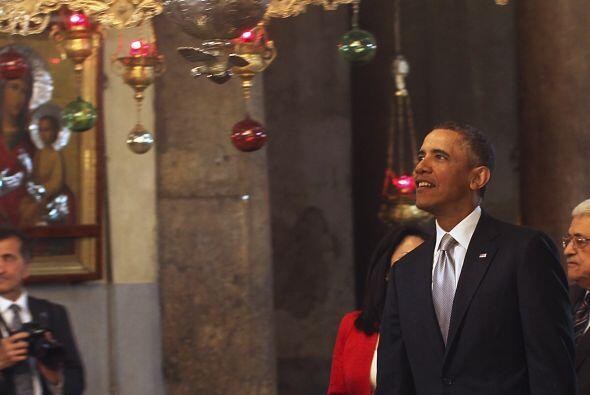 El presidente de EEUU, Barack Obama, abandonó la ciudad de Bel&ea...