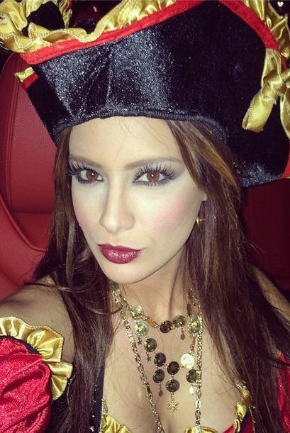 Así luce nuestra belleza latina este Halloween.