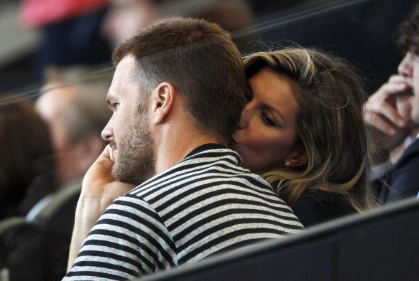 La Top Model, Gisele Bundchen, llevó a su quarterback favorito a ver la...