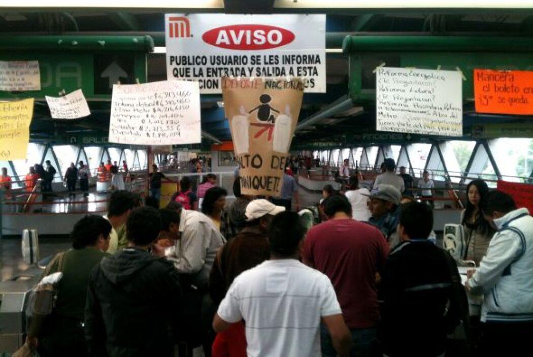 Los jóvenes manifestantes han convocado a diversas marchas para protestar.
