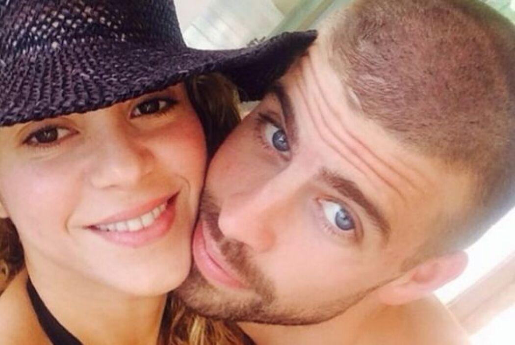 También presumió sus vacaciones en Cancún con una 'selfie' al lado de su...