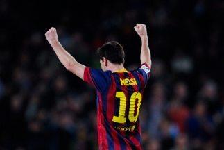 Messi igualó a Raúl, un histórico de españa, en anotaciones en la Liga.