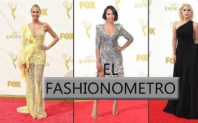 Fashionometro: Los mejor y peor vestidos de los Emmys 2015