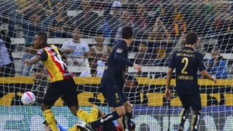 Fidel Martínez hizo el único gol del partido.