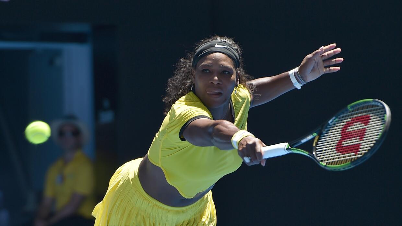 Serena Williams venció a Camila Giorgi