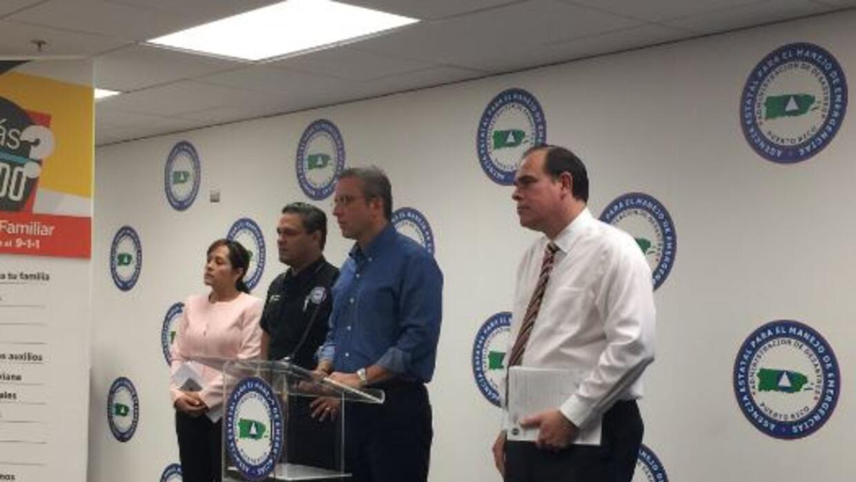 Conferencia de prensa apagón masivo