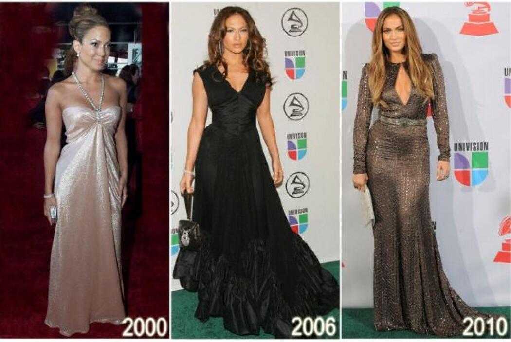 Jennifer López es el ejemplo perfecto para hablar de la evolución de la...
