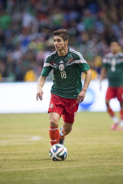 Isaac Brizuela tenía 19 años y poco de haber debutado con...