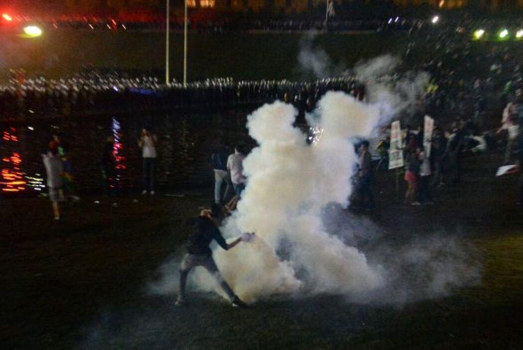 Las protestas que se repiten diariamente en Brasil comenzaron en Sao Pau...